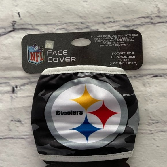 NFL Steelers Face Mask